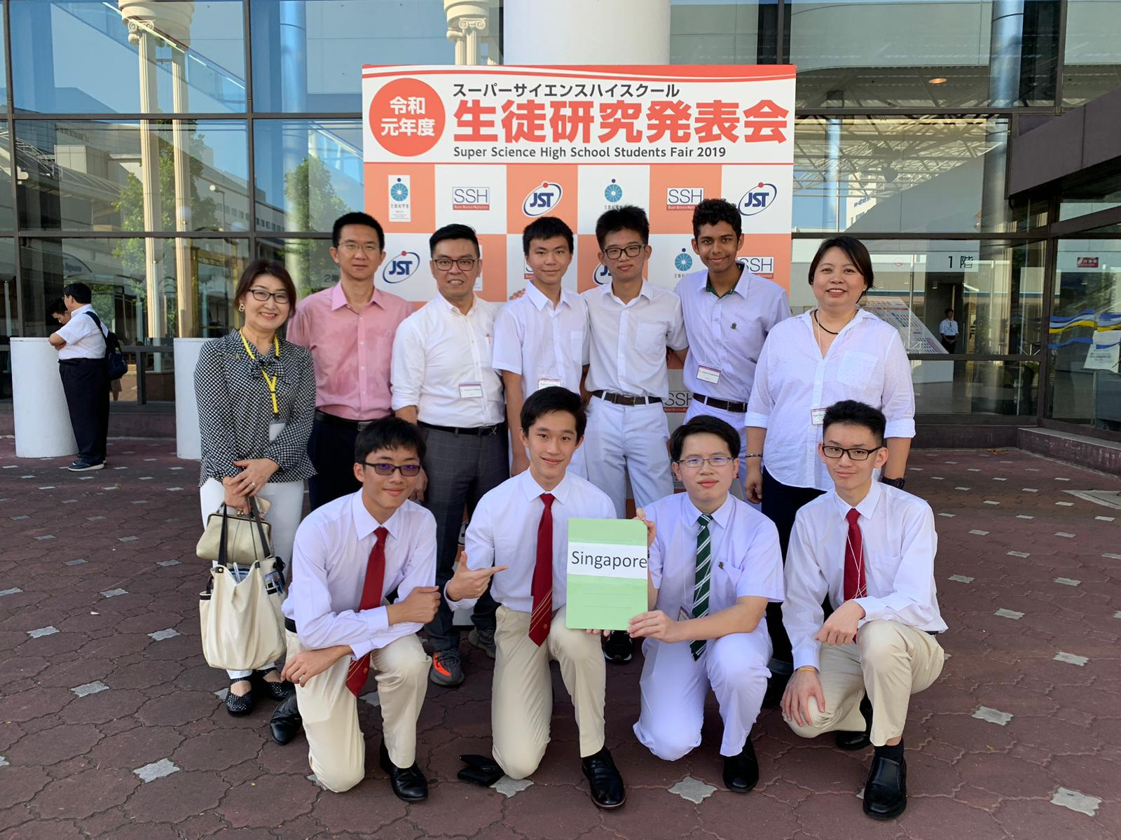 Super Science Highschool Students Fair-Group Photo outside Exhibition hall.jpg